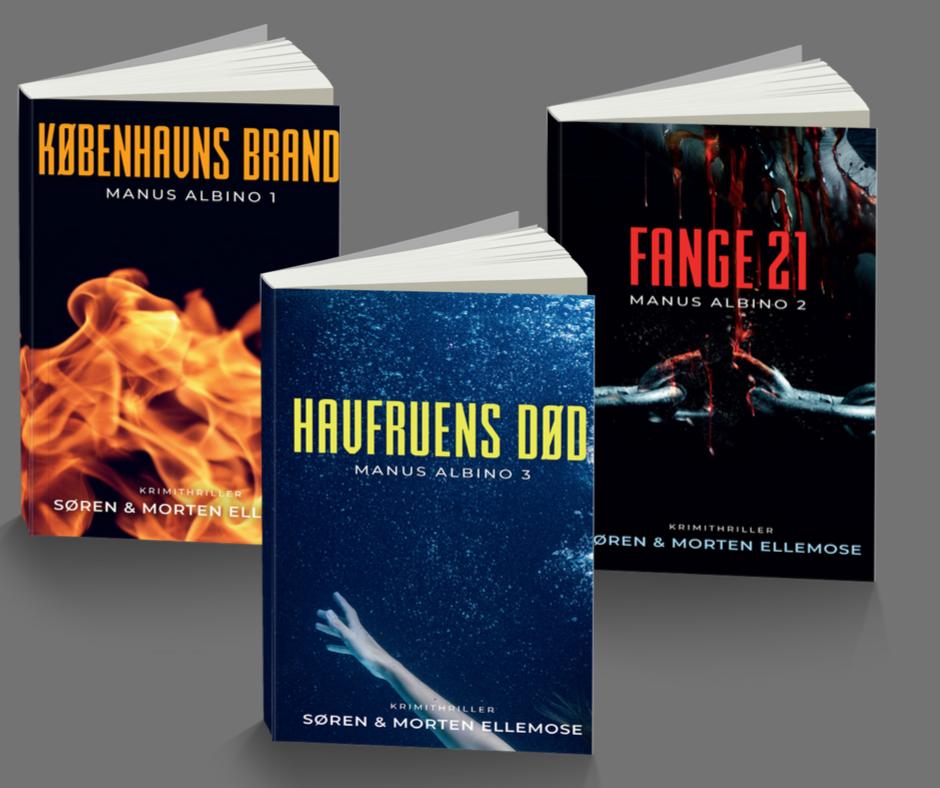 Anmeldelser af krimiserien Manus Albino